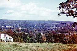1973 Heritage Village Connecticut <br />  Photos taken by George Look.  Image started as a color slide.