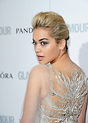04.JUNE.2013. LONDON<br /> <br /> RITA ORA ATTENDS THE 2013 GLAMOUR AWARDS IN BERKLEY SQUARE.<br /> <br /> BYLINE: EDBIMAGEARCHIVE.CO.UK<br /> <br /> *THIS IMAGE IS STRICTLY FOR UK NEWSPAPERS AND MAGAZINES ONLY*<br /> *FOR WORLD WIDE SALES AND WEB USE PLEASE CONTACT EDBIMAGEARCHIVE - 0208 954 5968*