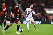 Luka Milivojevic (4) of Crystal Palace during the Premier League match between Bournemouth and Crystal Palace at the Vitality Stadium, Bournemouth, England on 1 October 2018.