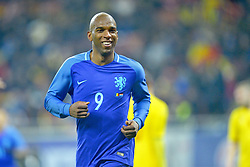November 14, 2017 - Bucharest, Romania - Ryan Babel (Ned)during the International Friendly match between Romania and Netherlands at National Arena Stadium in Bucharest, Romania, on 14 november 2017. (Credit Image: © Alex Nicodim/NurPhoto via ZUMA Press)