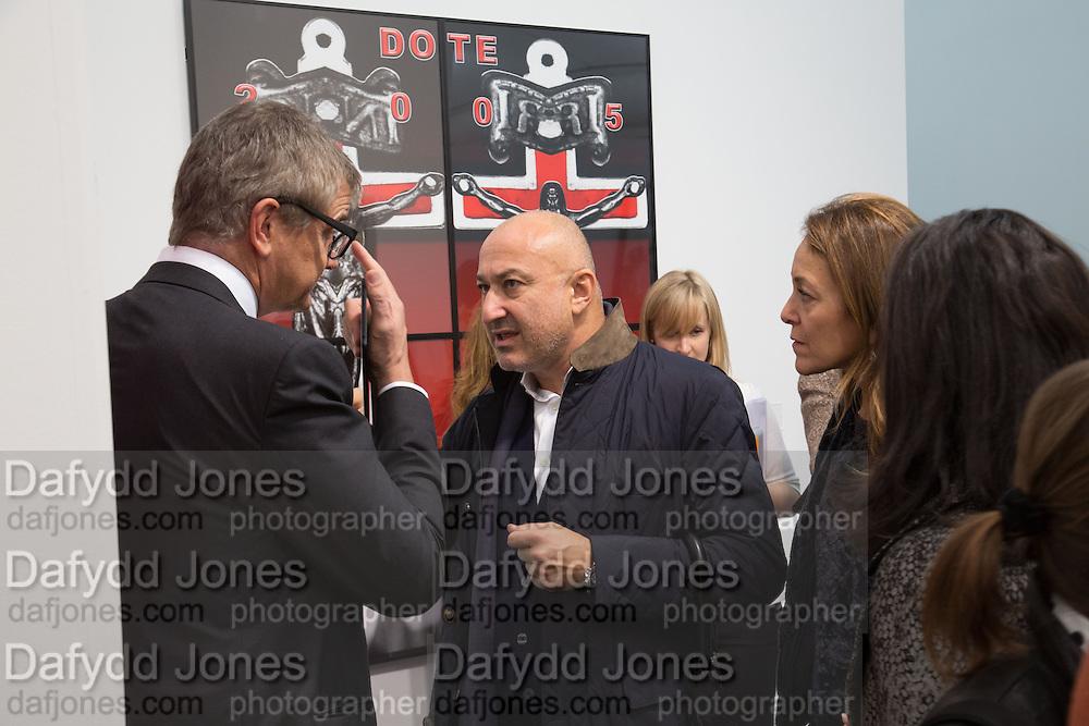 JAY JOPLING, The VIP preview of Frieze. Regent's Park. London. 16 October 2013