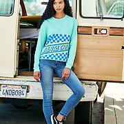 Angela. Spring apparel shoot   Santa Cruz Skateboards