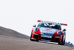 Dino Zamparelli | Bristol Sport Racing | #88 Porsche 911 GT3 Cup Car | Porsche Carrera Cup GB | Race 2 - Mandatory byline: Rogan Thomson/JMP - 07966 386802 - 23/08/2015 - MOTORSPORT - Knockhill Racing Circuit - Dunfermline, Scotland - BTCC Meeting Day 2.