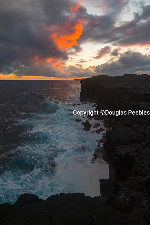 Puna coastline, Hawaii Volcanos Nationa Park, Big Island of Hawaii, Hawaii