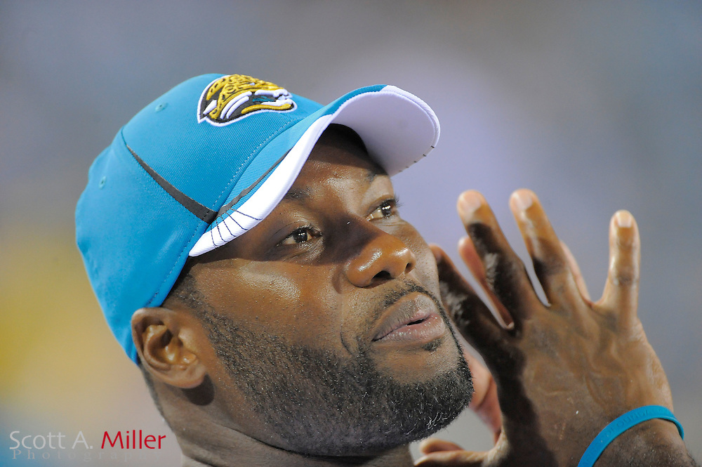 Jacksonville Jaguars quarterback David Garrard (9) during the Jags game against the Atlanta Falcons at EverBank Field on Aug. 19, 2011 in Jacksonville, Fla...©2011 Scott A. Miller