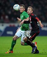 Fussball Bundesliga 2011/12: SV Werder Bremen - Bayer Leverkusen
