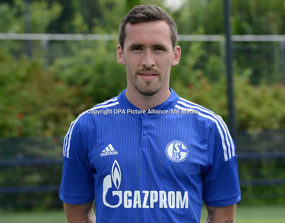 German Soccer Bundesliga - Photocall FC Schalke 04 on 17 July 2014 in Gelsenkirchen, Germany: Christian Fuchs.