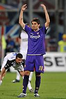 "Adrian Mutu (Fiorentina)<br /> Firenze 1/5/2008 Stadio ""Artemio Franchi"" <br /> Uefa Cup 2007/2008 Semifinals - Semifinale second Leg<br /> Fiorentina Rangers Glasgow (0-0) (2-4 a.p.)<br /> Foto Andrea Staccioli Insidefoto"