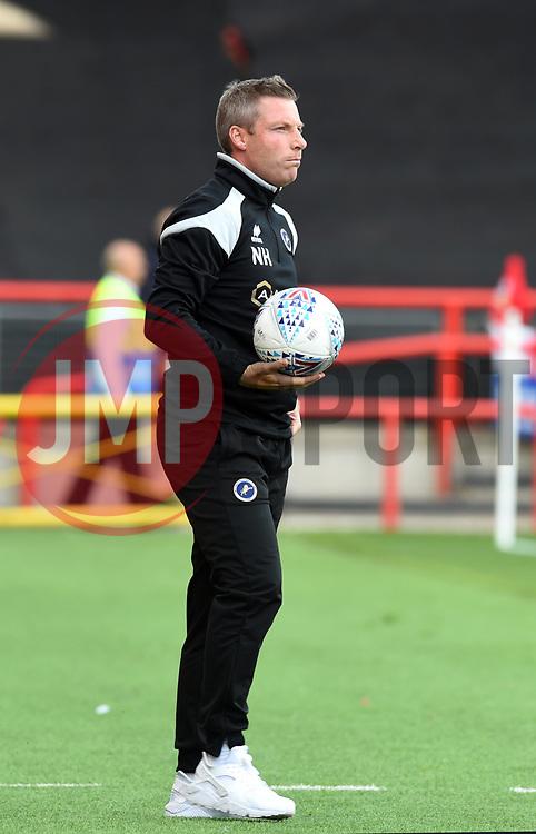 Millwall manager Neil Harris - Mandatory by-line: Paul Knight/JMP - 19/08/2017 - FOOTBALL - Ashton Gate Stadium - Bristol, England - Bristol City v Millwall - Sky Bet Championship