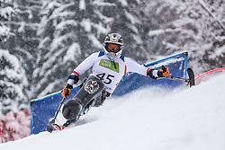 Ran Roman from Austria during Slalom race at 2019 World Para Alpine Skiing Championship, on January 23, 2019 in Kranjska Gora Slovenia. Photo by Matic Ritonja / Sportida