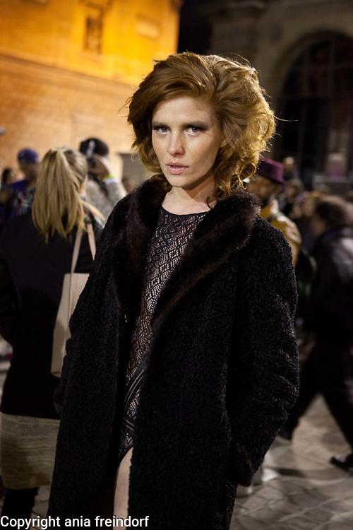 Paris Fashion Week, Lanvin, ETAM model