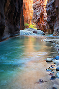 The Narrows at Zion National Park Utah