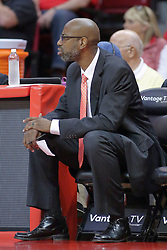 22 February 2017:  Brian Reese during a College MVC (Missouri Valley conference) mens basketball game between the Southern Illinois Salukis and Illinois State Redbirds in  Redbird Arena, Normal IL