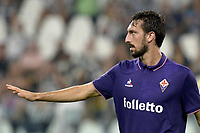 Davide Astori Fiorentina,<br /> Torino 20-08-2016, Juventus Stadium, Football Calcio 2016/2017 Serie A, Juventus - Fiorentina, Foto Filippo Alfero/Insidefoto<br /> Fiorentina captain Davide Astori dies suddenly aged 31 . <br /> Astori was staying a hotel with his team-mates ahead of their game on Sunday away at Udinese when he passed away. <br /> Foto Insidefoto