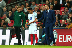 England Manager Gareth Southgate - Mandatory by-line: Robbie Stephenson/JMP - 05/10/2017 - FOOTBALL - Wembley Stadium - London, United Kingdom - England v Slovenia - World Cup qualifier