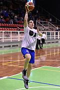 DESCRIZIONE : Pordenone Amichevole Pre Eurobasket 2015 Nazionale Italiana Femminile Senior Italia Australia Italy Australia<br /> GIOCATORE : Francesca Dotto<br /> CATEGORIA : riscaldamento<br /> SQUADRA : Italia Italy<br /> EVENTO : Amichevole Pre Eurobasket 2015 Nazionale Italiana Femminile Senior<br /> GARA : Italia Australia Italy Australia<br /> DATA : 28/05/2015<br /> SPORT : Pallacanestro<br /> AUTORE : Agenzia Ciamillo-Castoria/GiulioCiamillo<br /> Galleria : Nazionale Italiana Femminile Senior<br /> Fotonotizia : Pordenone Amichevole Pre Eurobasket 2015 Nazionale Italiana Femminile Senior Italia Australia Italy Australia<br /> Predefinita :