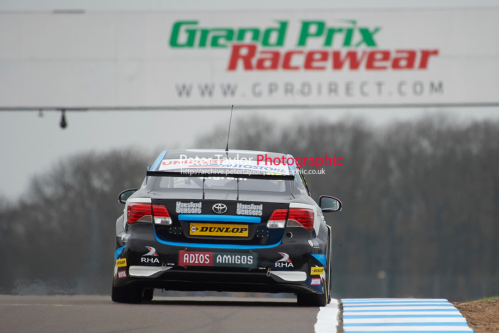 #80 Tom Ingram GBR Speedworks Motorsport Toyota Avensis during Media Day Test Session as part of the BTCC Media Day at Donington Park, Melbourne, Leicestershire, United Kingdom. March 22 2016. World Copyright Peter Taylor/PSP. Copy of publication required for printed pictures.  Every used picture is fee-liable.