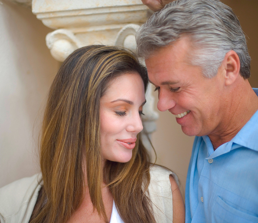 A couple at Florida's Fisher Island Club and resort