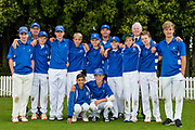 St Kentigern Boys' School after the National Primary School Cup Final, Bert Sutcliffe Oval, Lincoln, New Zealand, 16th November 2018.Copyright photo: John Davidson / www.photosport.nz