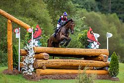 VAN DE VENDEL Theo (NED), Zindane<br /> Tryon - FEI World Equestrian Games™ 2018<br /> Vielseitigkeit Teilprüfung Gelände/Cross-Country Team- und Einzelwertung<br /> 15. September 2018<br /> © www.sportfotos-lafrentz.de/Stefan Lafrentz