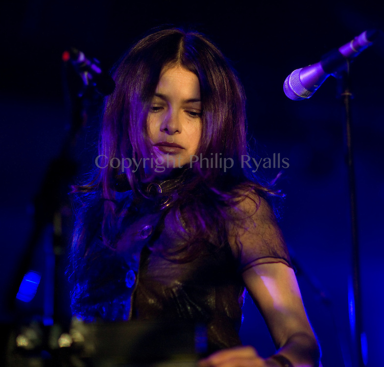 MINEHEAD, UK - MAY 09: Hope Sandoval performs on stage at ATP on May 9th, 2010 in Minehead, United Kingdom. (Photo by Philip Ryalls/Redferns)**Hope Sandoval