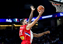 Vasilje Micic of Serbia during basketball match between National Teams of Italy and Serbia at Day 14 in Round of 16 of the FIBA EuroBasket 2017 at Sinan Erdem Dome in Istanbul, Turkey on September 13, 2017. Photo by Vid Ponikvar / Sportida