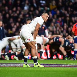 Jonathan Joseph of England during the RBS Six Nations match between England and France at Twickenham Stadium on February 4, 2017 in London, United Kingdom. (Photo by Dave Winter/Icon Sport)