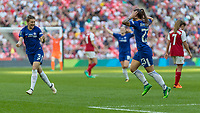 Football - SSE Women's FA Cup Final - Arsenal Women vs. Chelsea Ladies<br /> <br /> Ramona Bachmann (Chelsea Ladies FC) runs off in celebration after scoring her second goal at Wembley Stadium.<br /> <br /> COLORSPORT/DANIEL BEARHAM