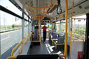 Israel, Ben-Gurion international Airport, Internal transport bus