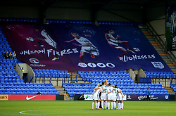 England players huddle before kick off - Mandatory by-line: Matt McNulty/JMP - 19/09/2017 - FOOTBALL - Prenton Park - Birkenhead, United Kingdom - England v Russia - FIFA Women's World Cup Qualifier