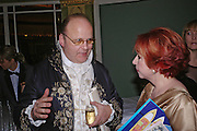 Count Andrei Tolstoy and Mrs. Panagiotis Lemos. War and Peace charity Ball, Dorchester Hotel. Park Lane. London. 17 February 2005. ONE TIME USE ONLY - DO NOT ARCHIVE  © Copyright Photograph by Dafydd Jones 66 Stockwell Park Rd. London SW9 0DA Tel 020 7733 0108 www.dafjones.com