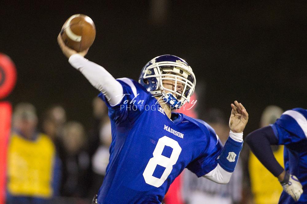 November/5/10:  MCHS Varsity Football vs Manassas Park Cougars, Madison wins 37-28.