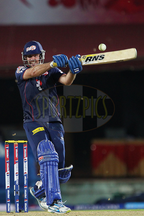 Ben Rorher during match 67 of the Pepsi Indian Premier League between The Kings XI Punjab and the Delhi Daredevils held at the HPCA Stadium in Dharamsala, Himachal Pradesh, India on the on the 16th May 2013..Photo by Ron Gaunt-IPL-SPORTZPICS ..Use of this image is subject to the terms and conditions as outlined by the BCCI. These terms can be found by following this link:..http://www.sportzpics.co.za/image/I0000SoRagM2cIEc