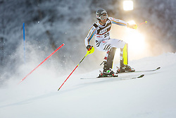 """Dominik Stehle (GER) during FIS Alpine Ski World Cup 2016/17 Men's Slalom race named """"Snow Queen Trophy 2017"""", on January 5, 2017 in Course Crveni Spust at Sljeme hill, Zagreb, Croatia. Photo by Ziga Zupan / Sportida"""