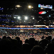 Former President Bill Clinton speaking at the 2012 Democratic Convention.