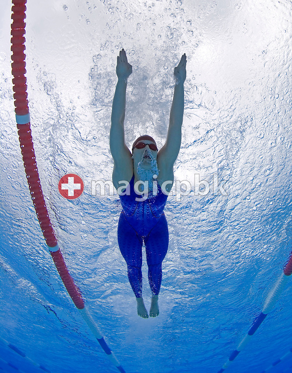 Senata Wagner of Switzerland competes in the women's 200m butterfly heats in the Schwimmbad Arbon at the Swimming Swiss Summer Championships in Arbon, Switzerland, Sunday 22 July 2007. (Photo by Patrick B. Kraemer / MAGICPBK)