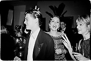 Leonardo DiCaprio, Sharon Stone & Ellen Barkin  at  Producer Steve Tisch &  Vanity Fair's Oscar Night Party,<br /> Mortons,  Los Angeles. March 1994.  Film 94559/25<br />  <br /> © Copyright Photograph by Dafydd Jones<br /> 66 Stockwell Park Rd. London SW9 0DA<br /> Tel 0171 733 0108.