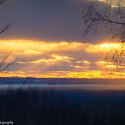 Stunning Lake Michigan Sunset