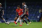 Southend United defender John White (2) during the EFL Trophy match between Southend United and U23 Brighton and Hove Albion at Roots Hall, Southend, England on 30 August 2016.