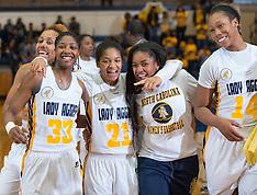 2015-16 A&T Women's Basketball vs Savannah State