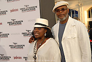 """Samuel L. Jackson and his wife.  """"Inglourious Basterds"""" Los Angeles, California premiere.  Grauman's Chinese Theatre, Hollywood, California.  Monday, August 10, 2009."""