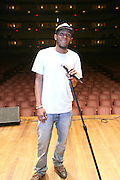 MosDef at rehearsals for his Mos Def Presents: The Amino Akaline-The Watermelon Syndicate Produced by Jill Newman at The Kennedy Center on Septemeber 22, 2008 in Washington, DC