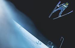 10.02.2019, Salpausselkae Hill, Lahti, FIN, FIS Weltcup Ski Sprung, Herren, im Bild Anze Semenic (SLO) // Anze Semenic of Slovenia during the men's FIS Ski Jumping World Cup at the Salpausselkae Hill in Lahti, Finland on 2019/02/10. EXPA Pictures © 2019, PhotoCredit: EXPA/ JFK