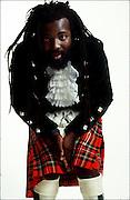 Freddie McGregor in Kilt - London Photosession