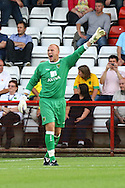 Stevenage - Tuesday July 20th, 2010:  John Ruddy of Norwich in action during the Pre Season Friendly match at the Lamex Stadium, Stevenage. (Pic by Paul Chesterton/Focus Images)