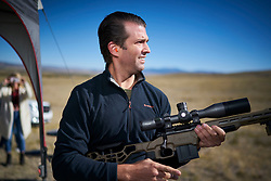EXCLUSIVE: Donald Trump Jr. the eldest child of the 45th President of the United States, Donald Trump. Trump Jr. was in Montana with his girlfriend Kimberly Guilfoyle to support Republican U.S. Senate candidate Matt Rosendale. Photographs taken September 25th 2018. 24 Apr 2019 Pictured: Donald Trump Jr. the eldest child of the 45th President of the United States, Donald Trump. Trump Jr. was in Montana with his girlfriend Kimberly Guilfoyle. Photo credit: John Chapple/MEGA TheMegaAgency.com +1 888 505 6342