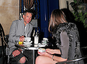 21.APRIL.2010. LONDON<br /> <br /> JEFFERSON HACK SITTING HAVING COFFEE WITH GIRLFRIEND ANOUCK LEPERE AT LIITLE ITALY IN SOHO.<br /> <br /> BYLINE: EDBIMAGEARCHIVE.COM<br /> <br /> *THIS IMAGE IS STRICTLY FOR UK NEWSPAPERS AND MAGAZINES ONLY*<br /> *FOR WORLD WIDE SALES AND WEB USE PLEASE CONTACT EDBIMAGEARCHIVE - 0208 954 5968*