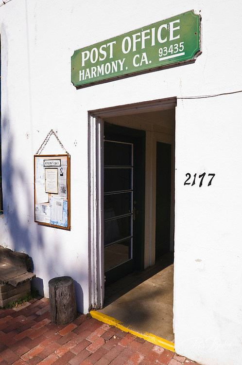 The Harmony Post Office, Harmony, California