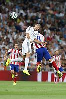 Real Madrid´s Pepe during 2014 Supercopa de España `Spain Supercup´ at Santiago Bernabeu stadium. August 19, 2014. (ALTERPHOTOS/Victor Blanco)
