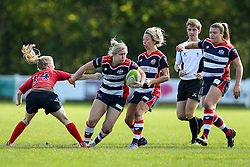 Marlie Packer of Bristol Ladies in action - Rogan Thomson/JMP - 16/10/2016 - RUGBY UNION - Cleve RFC - Bristol, England - Bristol Ladies Rugby v Lichfield Ladies - RFU Women's Premiership.